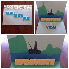 Cartão 3D #arteempapel