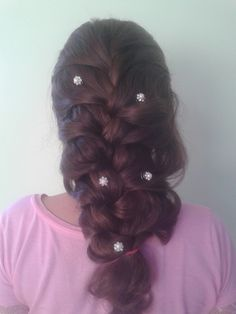 Did it on my cousin's hair