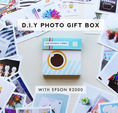 DIY Instagram Photo Box Printable Template from Design is Yay