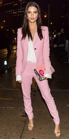 Emily Ratajkowski's Hottest Street Style Looks Ever - February 12, 2017 from InStyle.com