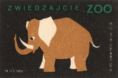 polish matchbox label - love this series for a nursery