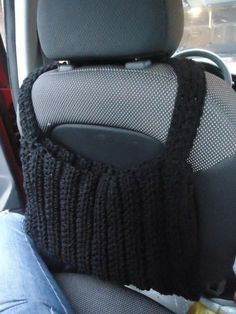 Crochet Car Pouch Pattern