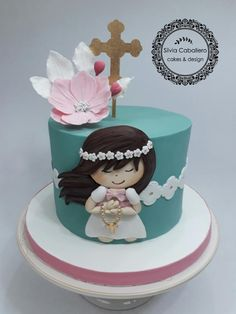 Communion cake by Silvia Caballero
