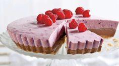 Nepečená torta s lesným ovocím | Recepty.sk