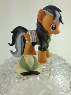 My Little Pony Friendship Is Magic Custom Pony Daring do Figure | eBay