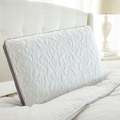 The Cloud Double Airflow Pillow is designed to conform to the contours of your head and neck, providing maximum support for restful sleep. Big Pillows, Foam Pillows, Side Sleeper Pillow, Bedding Basics, Queen Comforter Sets, Beds Online, Pillow Sale, Memory Foam