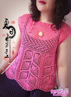 Fabulous Crochet a Little Black Crochet Dress Ideas. Georgeous Crochet a Little Black Crochet Dress Ideas. Crochet Beach Dress, Black Crochet Dress, Crochet Shirt, Crochet Cardigan, Crochet Lace, Crochet Stitches Patterns, Crochet Designs, Stylish Shirts, Crochet Woman