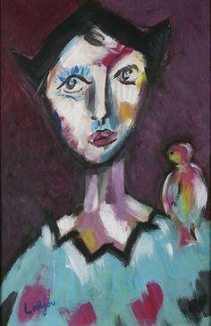 Bernard Lorjou (1908-1986) was een Franse schilder van het expressionisme. Lorjou raakt bekend om zijn extravagante tentoonstellingen en strijdlustige geest. Zijn oeuvre bestaat uit duizenden schilderijen, een verzameling houtgravures, keramiek en bronzen beelden, litho's, geïllustreerde boeken, maatschappelijk georiënteerde posters, glas in lood ramen en muurschilderingen.