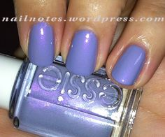 I'm in love with this color! (Essie She's Picture Perfect)