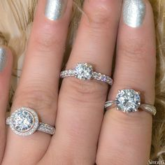 Which of these breath-taking diamond engagement rings from Simon G. is your favorite?