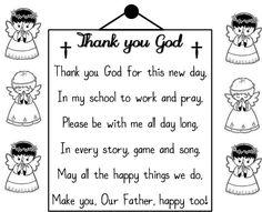prayer for kindergarten class - Google Search