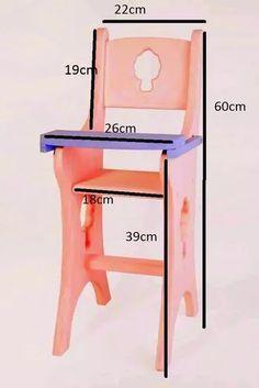 Nordic Furniture, Wood Furniture Living Room, Wooden Pallet Furniture, Baby Furniture, Wooden Pallets, Wooden Baby High Chair, Baby Chair, Wood Chair Design, Lumber Storage