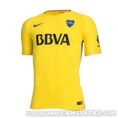 Camiseta Suplente Nike de Boca Juniors 2017