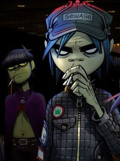 2-D and Murdoc