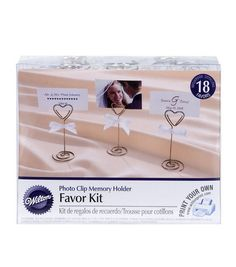 Wilton® 18ct Photo Clip Favor Kit