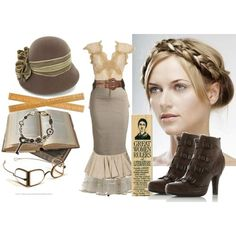 Steampunk Teacher.