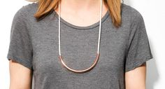Copper Standard-Off White by maslojewelry on Etsy
