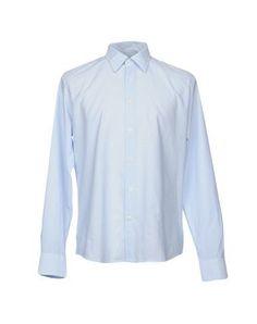 TONELLO Men's Shirt Sky blue 17 inches-neck