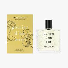 Eau de Parfum Poirier d'un soir,Miller Harris  #LeBonMarche #FeteDesMeres #MotherDay #Cadeau #Maman #Love #Yellow #Jaune