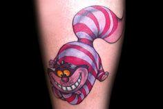 Tattoo-Foto: Grinsekatze