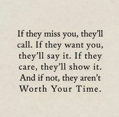 If they want you in their life, they will put you in it