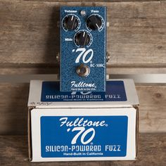 Fulltone '70 Fuzz | Pedals and Effects Available at Garrett Park Guitars | www.gpguitars.com