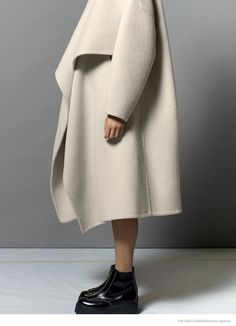 Fall Coats: Imaan & Amanda by Andrea Spotorno for The Gentlewoman