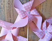 Baby Ballerina - set of 4 Pinwheels