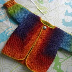 juliaZahle's Baby Surprise Jacket -- Kauni Effecktgarn