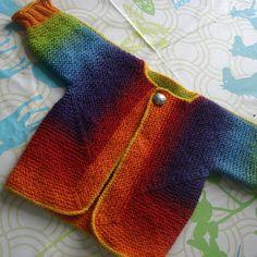 juliaZahle's Baby Surprise Jacket  -- Kauni Effecktgarn