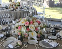 Decoration Table Ronde Mariage : ... Déco table mariage on Pinterest  Mariage, Marque place and Tables
