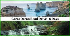 Great Ocean Road Drive- 6 Day Self-Drive Itinerary 2019 Beautiful Waterfalls, Self Driving, Touring, The Good Place, Road Trip, Ocean, Beach, Day, Places
