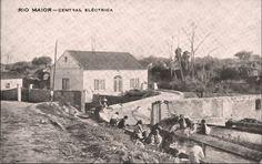 Foto da antiga central elétrica - Rio Maior | Portugal