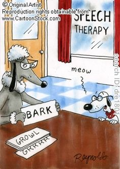 Speech Therapy Cartoon