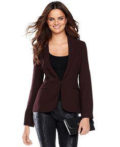 INC International Concepts Jacket, Boyfriend Blazer - Womens Blazers - Macy's