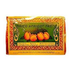 Dried Apricot Paste, 500g (17oz) or 1lb - my grandparents would always have one of these in the drawer