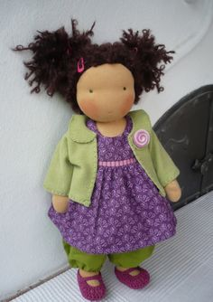 organic waldorf doll 18 / 45cm by Jucidolls on Etsy, Ft47000.00