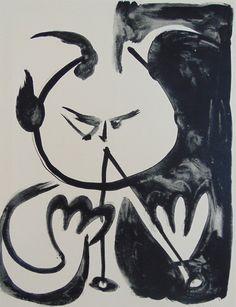 Musician Faun No.5   Pablo Picasso, Musician Faun No.5 (1958)