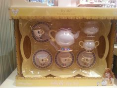 Mrs Potts, Chip and his brothers and sisters