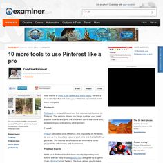 10 more tools to use Pinterest like a pro