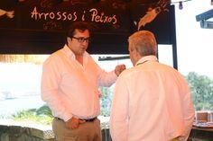 Juan Muga y Alfredo Peris en la presentacíon de nuestro Blanco y Rosado 2013 y de nuestro Muga Crianza 2010 #BodagasMuga #Muga #Vino #vinoteca #Wine