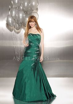 Sweetheart Sleeveless A line Asymmetric Waist Floor Length Taffeta Evening Dress