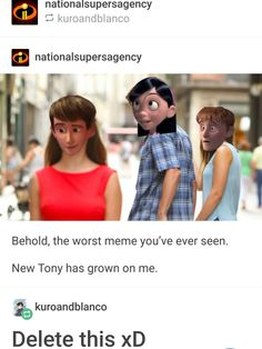 Det var conor likes memes, der fandt denne pin. Tumblr Funny, Funny Memes, Hilarious, Jokes, Disney And Dreamworks, Disney Pixar, Disney Theory, Disney Love, Disney Magic