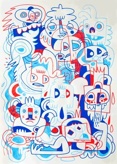 urbansupers-a-terrible-thing - Jon Burgerman