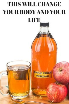 The apple cider vinegar has a vast number of usages, from pies, pickles to salads. However, it could also be used for drinking. Although surprising, if you drink some amount of it before going to bed, you can greatly improve your overall life and health.