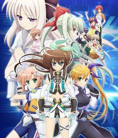 Anuncio para televisión y nueva imagen del Anime Vivid Strike!