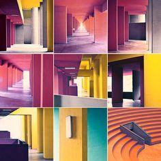 Geometrie by Lorenzo Morandi... Me hace extrañar a Legorreta