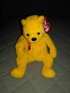 TY Beanie baby bear Poopsie with tags Beanie Baby Bears 170e1146db18