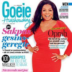 Ons Mei-uitgawe is nou beskikbaar! Die immer-inspirerende Oprah Winfrey is op die voorblad van ons nuutste uitgawe – dis stampvol met raad om geld te spaar en jou lewe makliker te maak