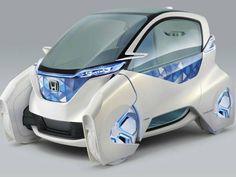 MCC, modelo verde e futurista da Honda